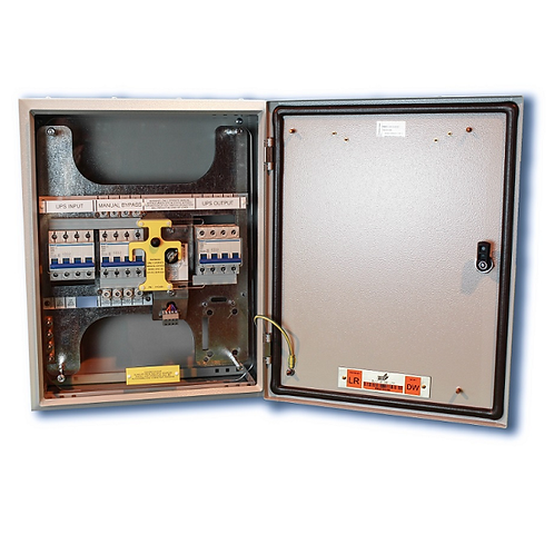 Wall Mountable 3/3 80A Bypass RB1-C-EMBS-80A-4P-ISO-344-MECH