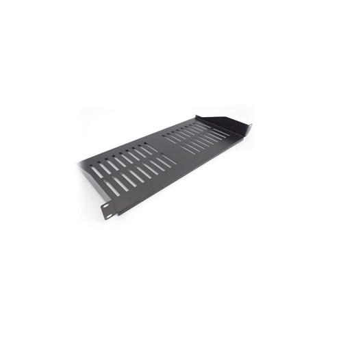 Allrack 1U Cantilever shelf 3OOmm deep (black) SHELF1U300BK