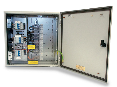 Wall Mountable 3/3 125A Bypass RB1-EMBS-125A-3P-ISO-333-MECH