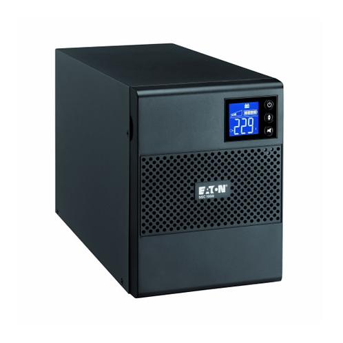 Eaton 5SC, 500i, 500 VA, 350 W, Input: C14, Outputs: (4) C13, Tower UPS