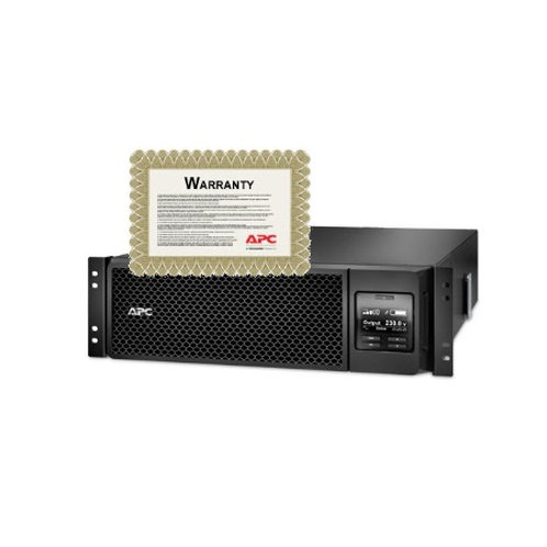 APC Smart-UPS SRT 5000VA 230V Rack Mount with 6 year warranty SRT5KRMXLI-6W