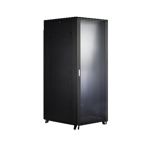 Allrack 27U 800w X 600d x 1383h with Glass Front Door AR27U800x600x1383-GD