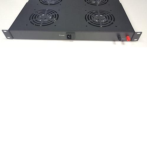 Allrack 4 Digital Thermo 2 Way Rack Mount Fan Tray ALFANRK4T