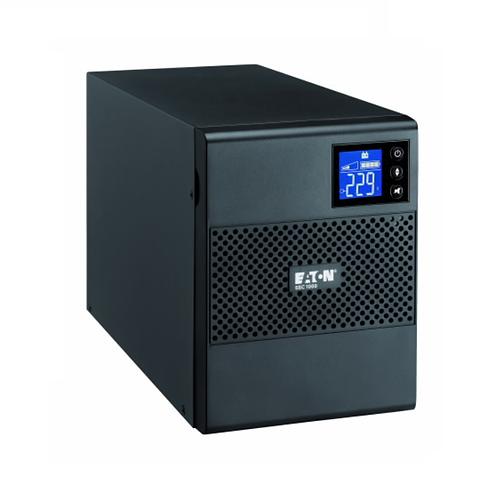 Eaton 5SC, 1000i, 1000 VA, 700 W, Input: C14, Outputs: (8) C13, Tower UPS