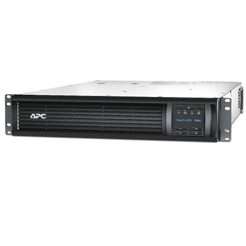 APC Smart-UPS 3000VA LCD RM 2U 230V with Network Card SMT3000RMI2UNC