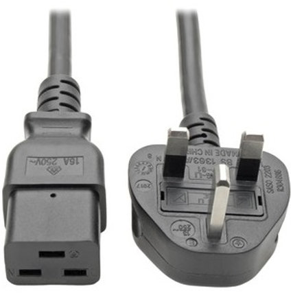Tripp Lite UK Power Cable with BS 1363 Plug P052-008