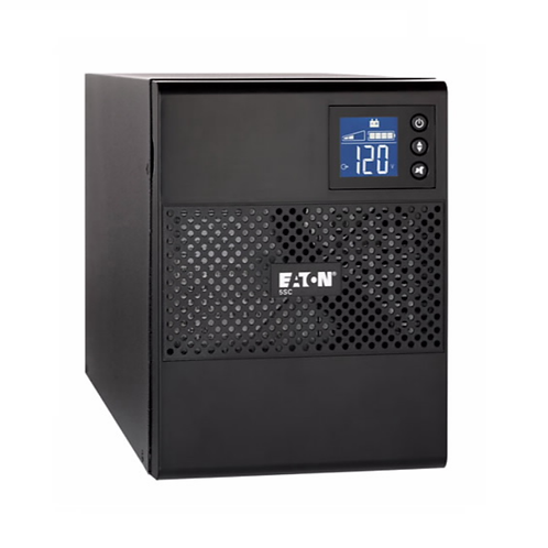 Eaton 5SC, 1500i, 1500 VA, 1050 W, Input: C14, Outputs: (8) C13, Tower UPS