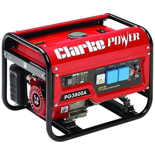 Clarke PG3800A 3kVA Petrol Generator 8857852