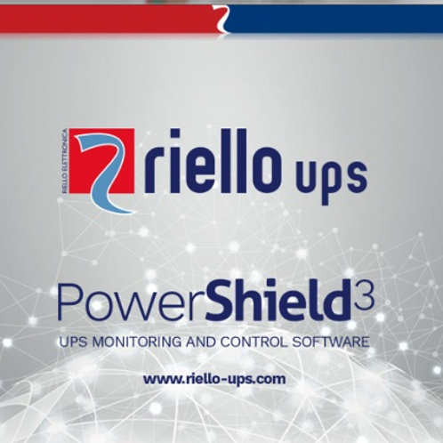 Riello PowerShiled Software for up to 32x UPS PowerShield3 Full