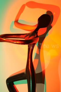 Tanz-vor-rot-grünen-Schatten