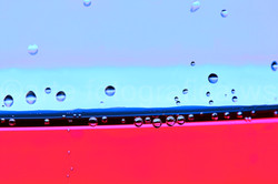 Tropfentanz-blau-rot