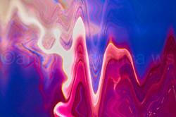 Wellen-violett-blau