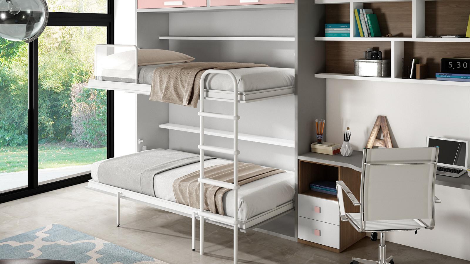 lits gain de place pour enfant et meubles sur mesure lits superpos s escamotables ih099. Black Bedroom Furniture Sets. Home Design Ideas
