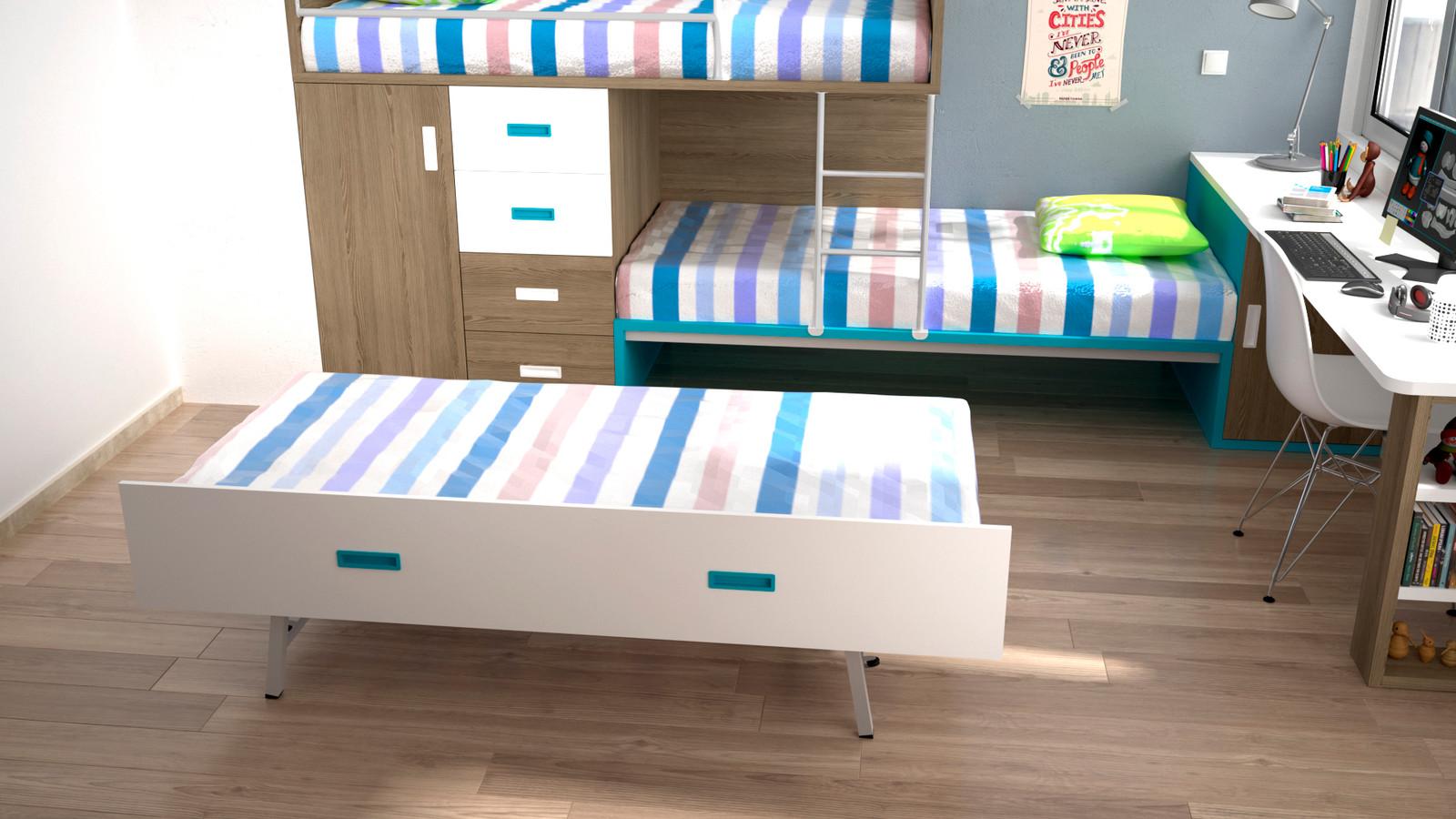 lits gain de place pour enfant et meubles sur mesure superpos s d cal ih124. Black Bedroom Furniture Sets. Home Design Ideas