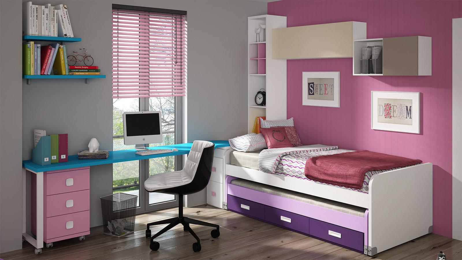lit gain de place. Black Bedroom Furniture Sets. Home Design Ideas