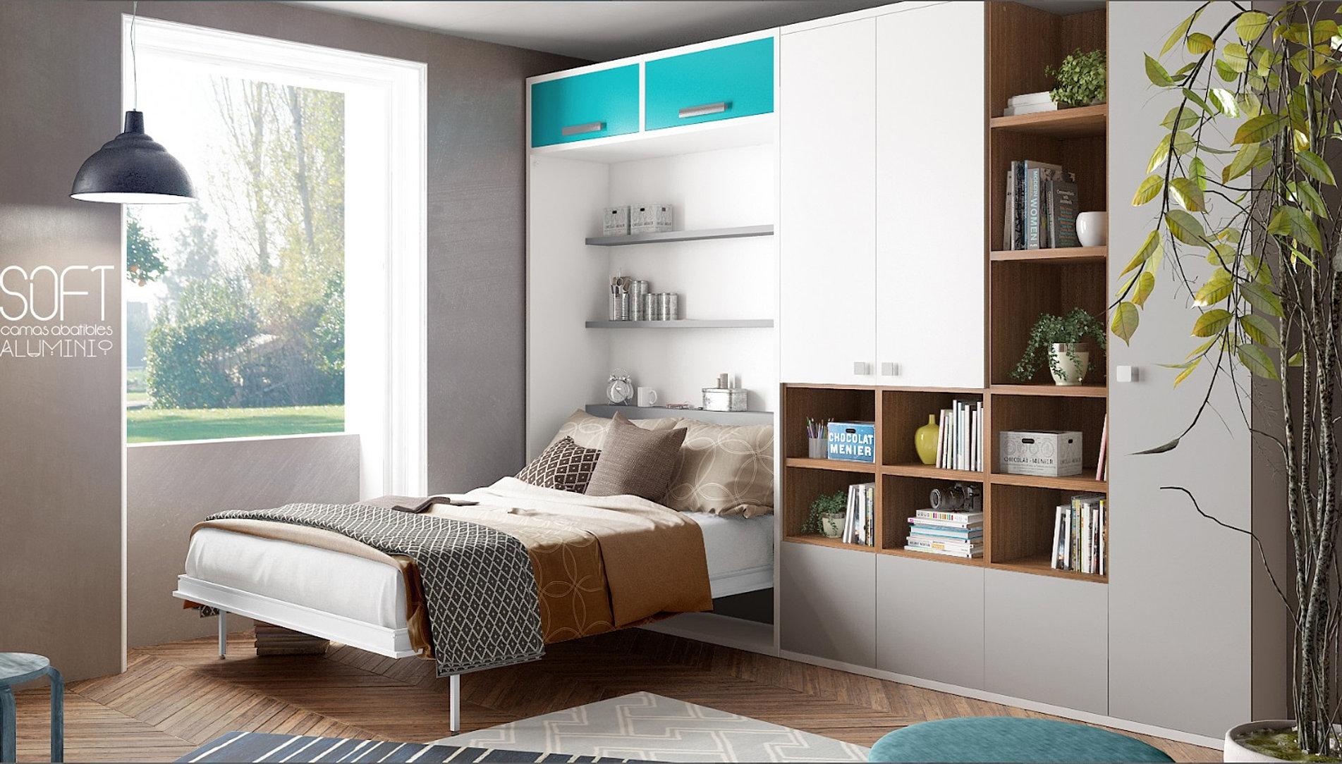 lit superpos et mezzanine escamotable gigogne gain place enfant. Black Bedroom Furniture Sets. Home Design Ideas