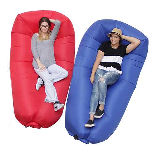 Matika's inflatable sofa