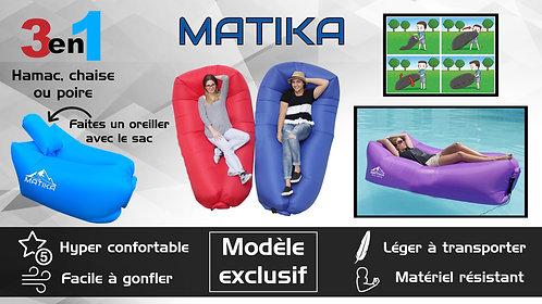 Matika's Unique 3 in 1 Hammock