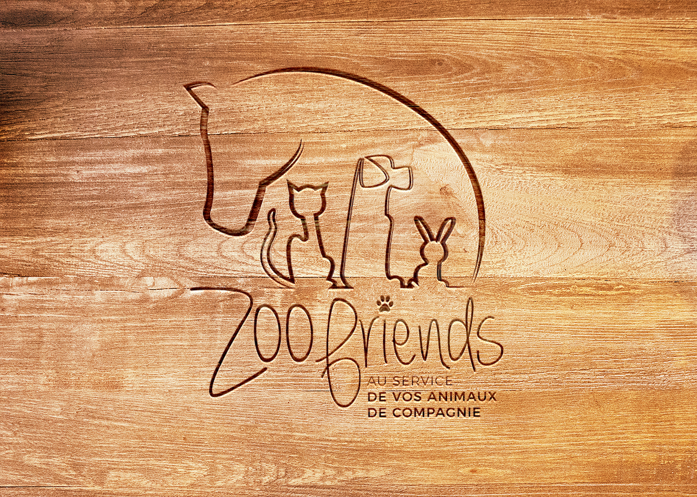 Logo Zoofriends