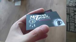 Moment Catcher carte de visite