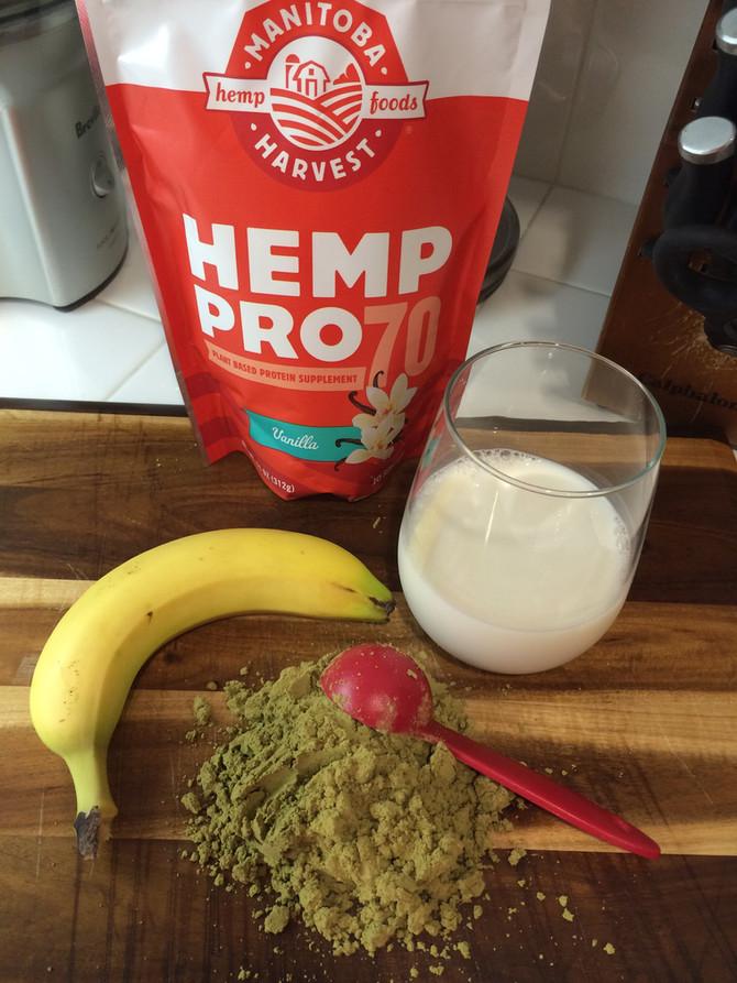 Hemp Protein vs. Whey Protein Powder