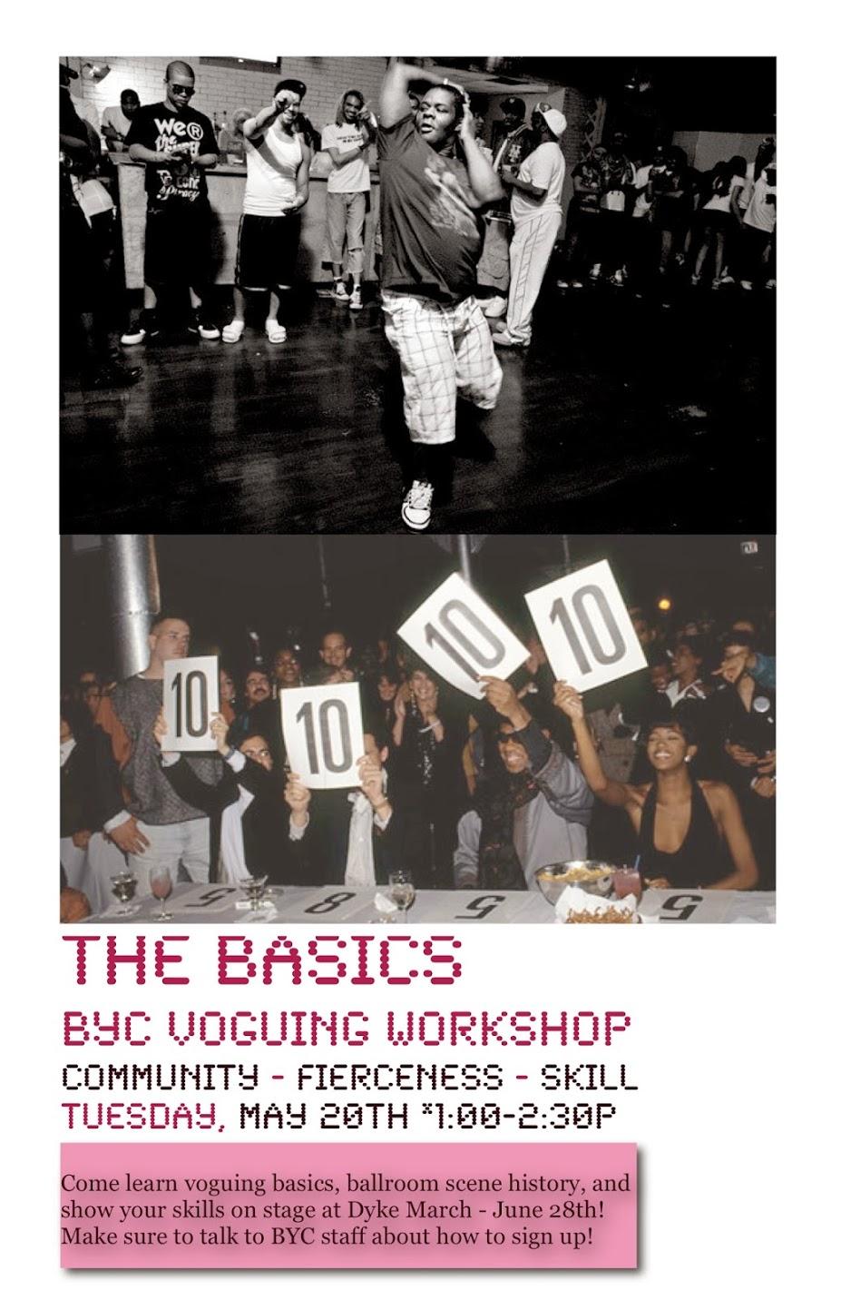 Vogue Workshop: 2014