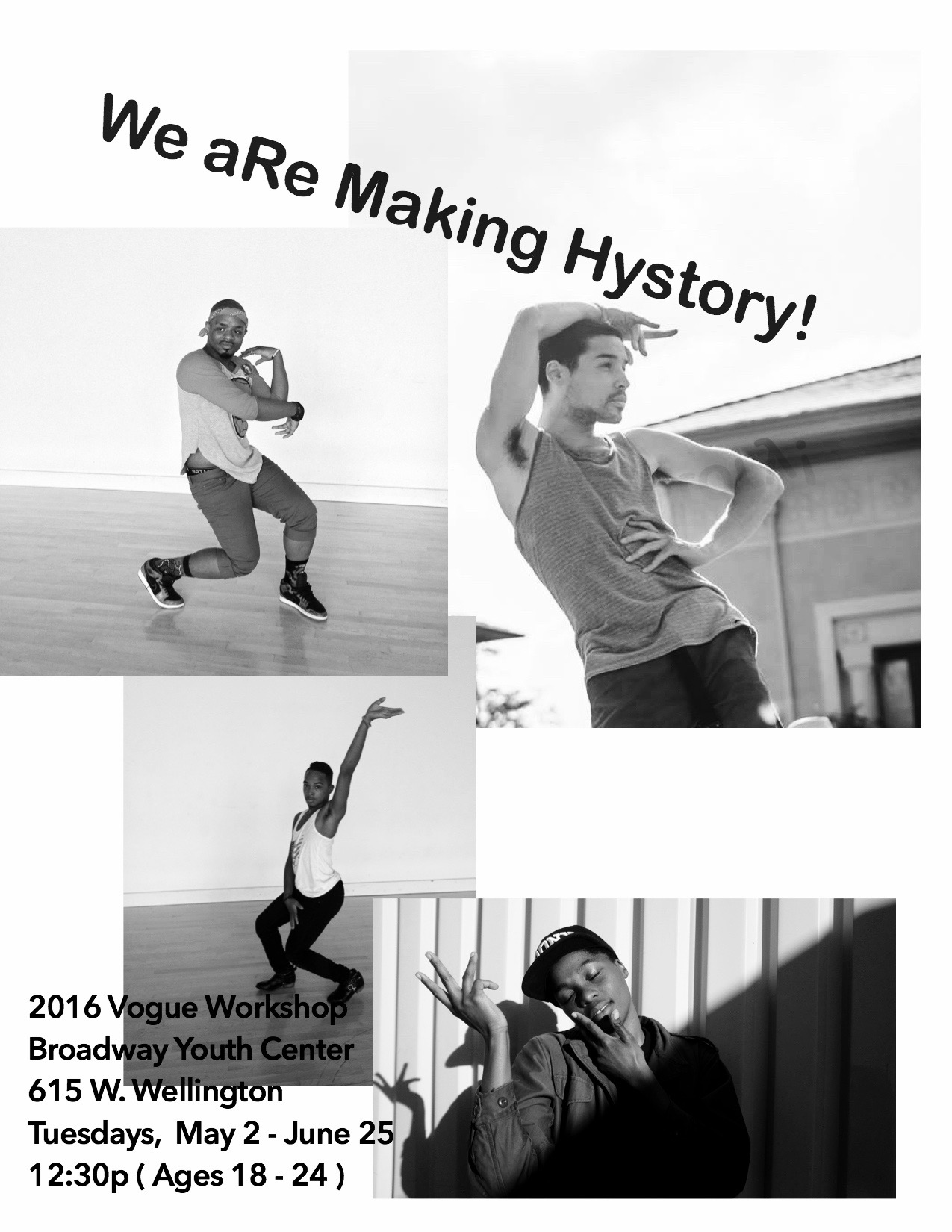 Vogue Workshop: Summer 2016