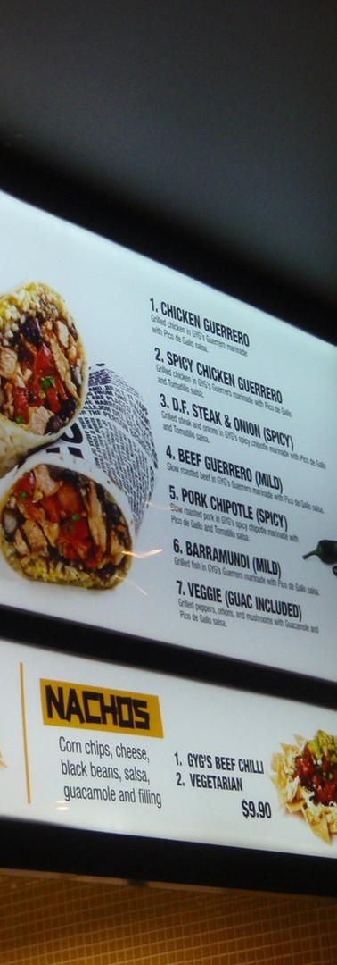 Opal lightbox menus