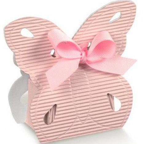 Kartonage Butterfly Rosa