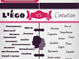 L'égo versus l'intuition