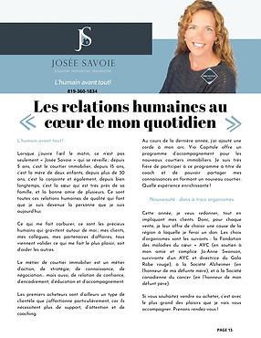 Josée-Savoie-agente-immobilière-magasine