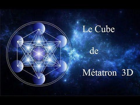 Le cube de métatron