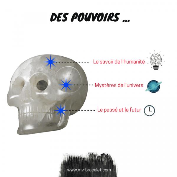 Le pouvoir des crânes de cristal