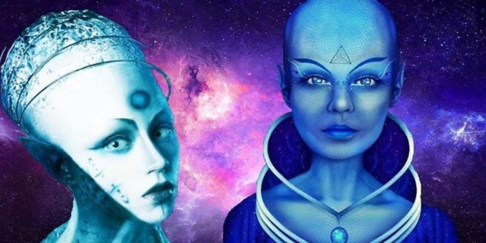 Soin énergétique avec les guides de Sirius (payant pour les nombres Espace Zen)