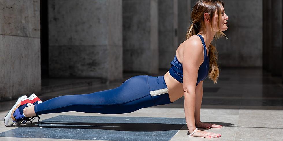 Yoga Vinyasa Online - 60 min Live sur Zoom à 17h00