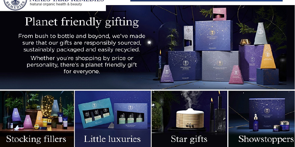 Purchase Christmas Gifts from Neal's Yard