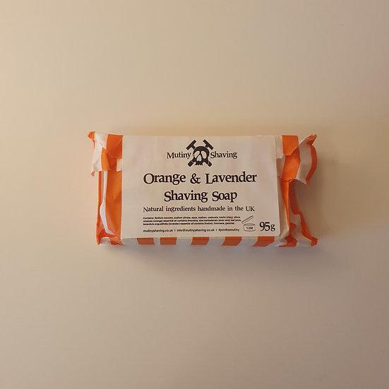 Shaving Soap - Orange & Lavender