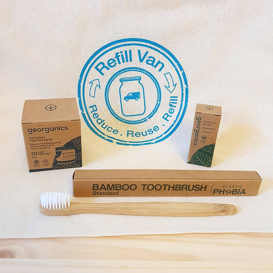 Sustainable Dental Gift Bag