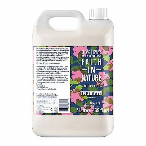 Faith In Nature Body Wash - Wild Rose