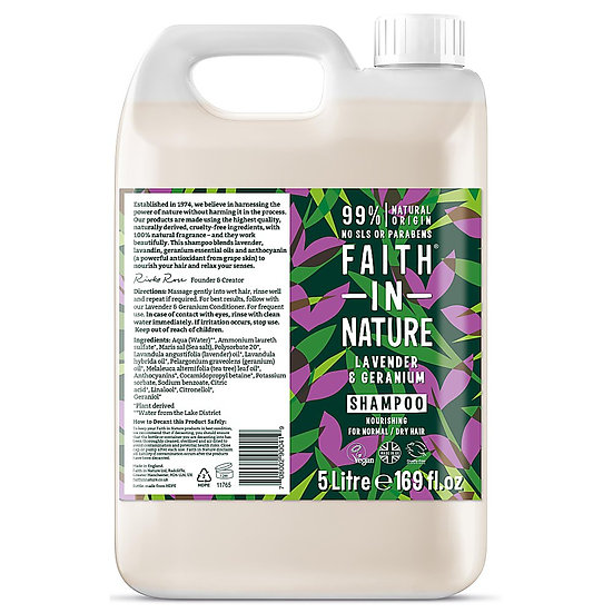 Faith in Nature Shampoo - Lavender & Geranium