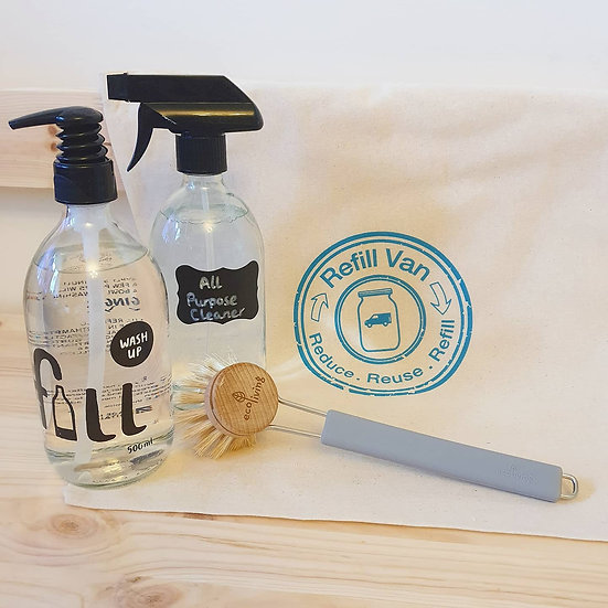 Sustainable Cleaning Gift Bag