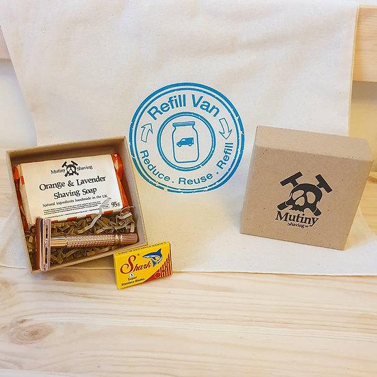 Sustainable Shaving Gift Bag