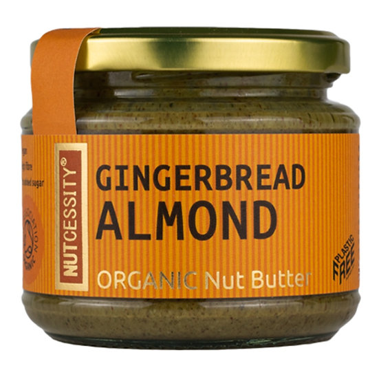 Nutcessity Nut Butter - Gingerbread Almond