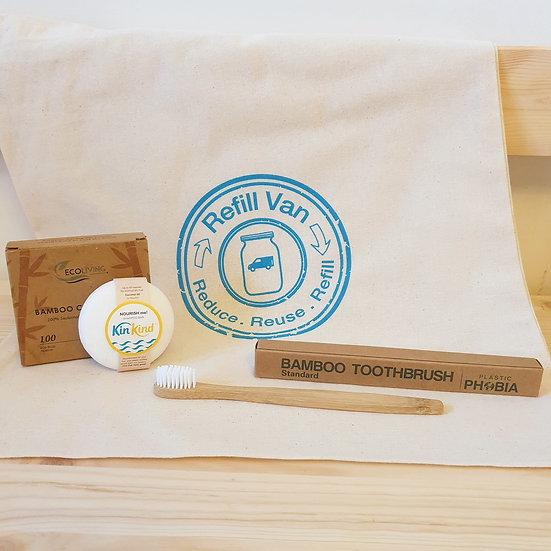 Sustainable Bathroom Gift Bag