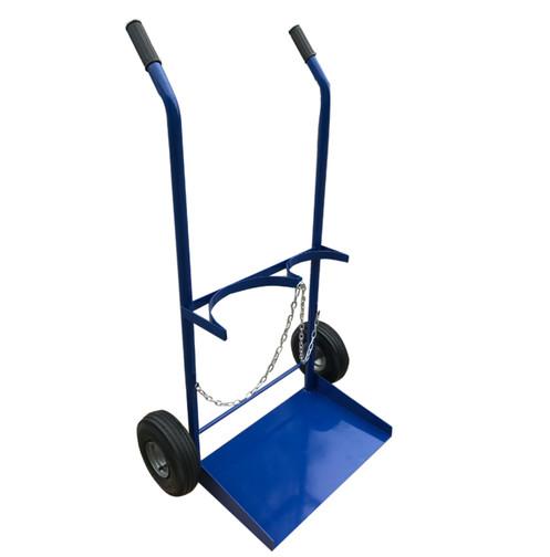 Gas Cylinder Trolley – Size G, Pneumatic Wheels