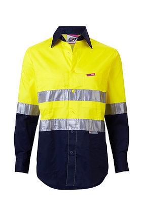 Women's Endurtie Yellow/Navy Workwear Hi-Vis