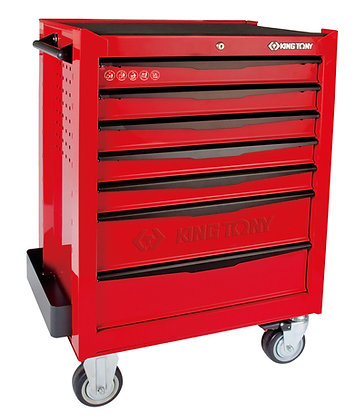7 Drawer Contrast Tool Trolley Cabinet