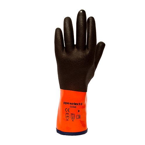 FLEXeChem CCG40 Gloves - PVC & Kevlar Coated, Cut 5