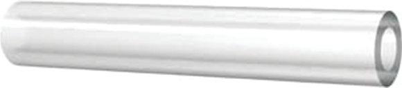 Close view Clear PVC hose
