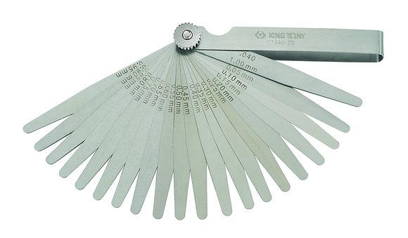 Feeler Gauge Sets, 20 Blades